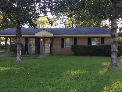 Selma Single Family Home For Sale: 2603 Church Street