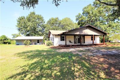 Wetumpka Single Family Home For Sale: 3211 Weoka Road