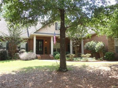 Prattville Single Family Home For Sale: 1332 Crows Pass