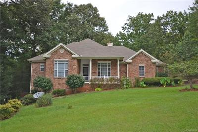Wetumpka Single Family Home For Sale: 80 Willow Bend Drive