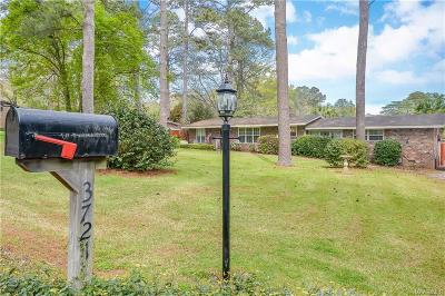 Montgomery Single Family Home For Sale: 3721 Dalraida Terrace