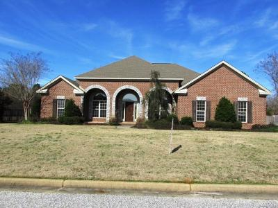 Wetumpka Single Family Home For Sale: 21 Mountain Terrace Lane