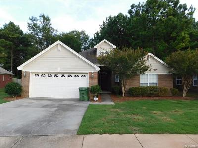 Montgomery Single Family Home For Sale: 3730 Claiborne Circle