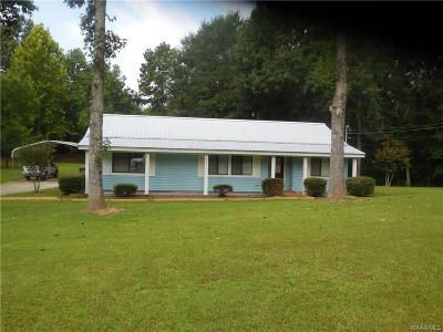 Wetumpka Single Family Home For Sale: 250 Waterview Drive