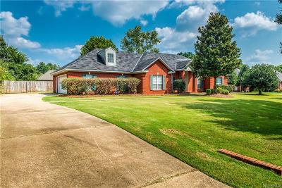 Wetumpka Single Family Home For Sale: 1550 Emerald Mountain Parkway