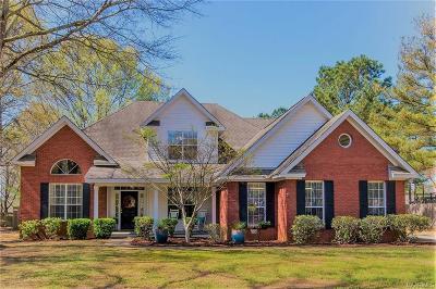Wetumpka Single Family Home For Sale: 185 Hickory Lane