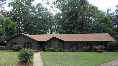 Prattville Single Family Home For Sale: 1107 Sycamore Court