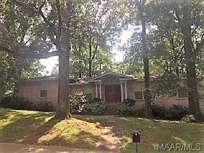 Montgomery Single Family Home For Sale: 3000 Pinehill Road