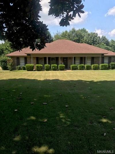 Montgomery Single Family Home For Sale: 108 Natchez Drive