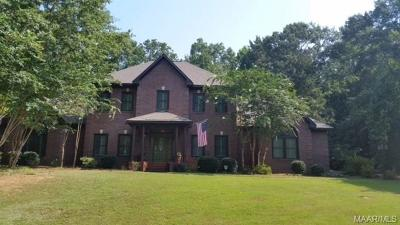 Wetumpka Single Family Home For Sale: 134 Aegean Way
