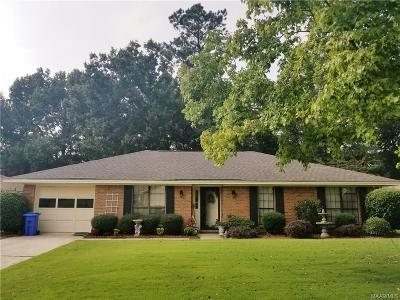 Prattville Single Family Home For Sale: 707 Old Creek Road