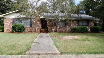 Wetumpka Single Family Home For Sale: 916 W Tuskeena Street