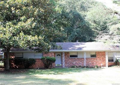 Montgomery AL Single Family Home For Sale: $59,000