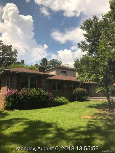 Millbrook Single Family Home For Sale: 474 Old Prattville Road