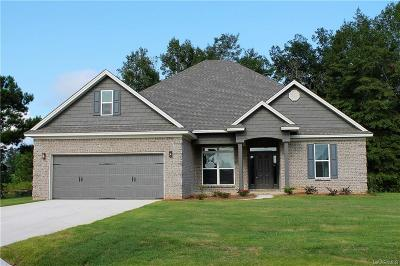 Wetumpka Single Family Home For Sale: 92 Bentom Drive
