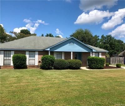 Prattville AL Single Family Home For Sale: $164,900
