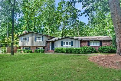Hillwood Single Family Home For Sale: 1730 Vaughn Lane