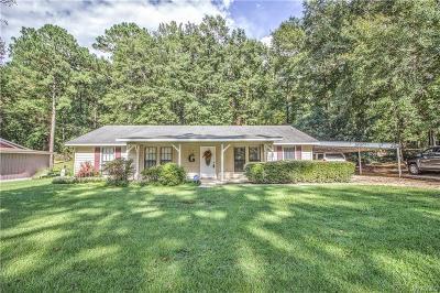 Wetumpka Single Family Home For Sale: 303 Shawnee Drive