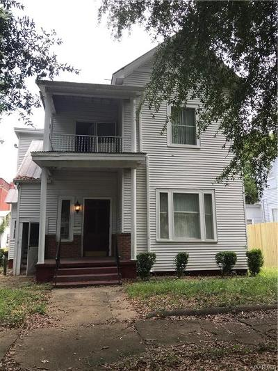Selma Single Family Home For Sale: 508 Mabry Street