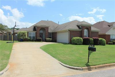 Prattville Single Family Home For Sale: 107 Grasmere Court