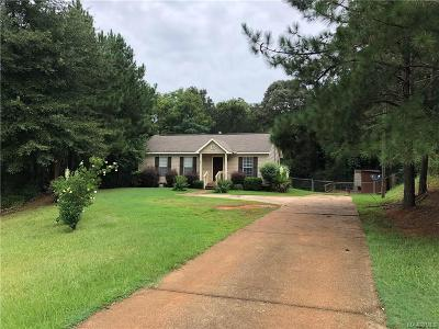 Prattville Single Family Home For Sale: 1834 N 31 Highway