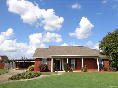 Prattville Single Family Home For Sale: 1837 Seasons Drive