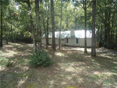 Wetumpka Single Family Home For Sale: 427 Busch Hill Drive