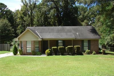 Wetumpka Single Family Home For Sale: 141 Shawnee Drive