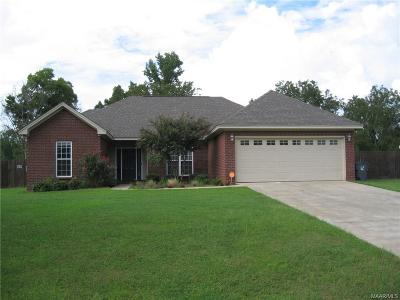 Wetumpka Single Family Home For Sale: 84 Curlee Way