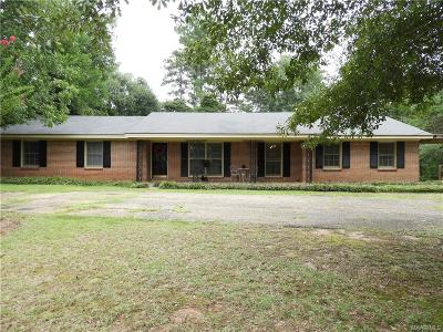 Prattville Single Family Home For Sale: 1002 Upper Kingston Road