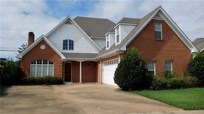 Wetumpka Single Family Home For Sale: 101 River Chase Court