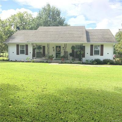Snowdoun Single Family Home For Sale: 135 Suggs Road
