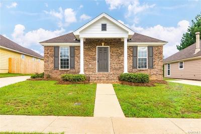 Tallassee Single Family Home For Sale: 85 Cottage Hill Court