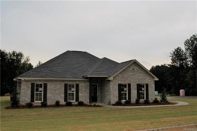 Wetumpka Single Family Home For Sale: 1065 Southern Hills Drive