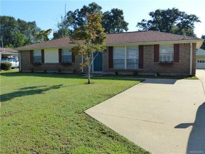 Prattville Single Family Home For Sale: 148 Primrose Drive