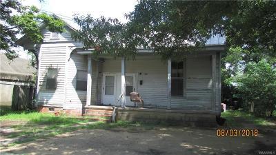 Selma Multi Family Home For Sale: 1711 Alabama Avenue #2