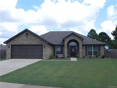 Prattville Single Family Home For Sale: 1618 Buena Vista Boulevard