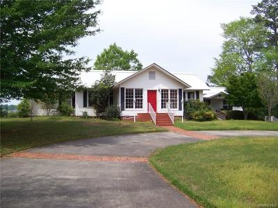 Tallassee Single Family Home For Sale: 18 Dixie Circle