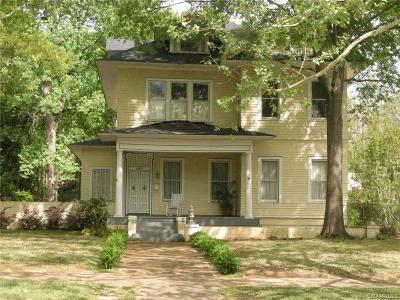 Montgomery Single Family Home For Sale: 1483 S Perry Street