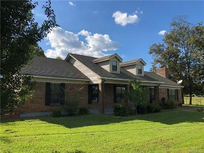 Single Family Home For Sale: 1233 Hilltop Road