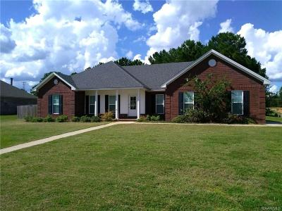 Wetumpka Single Family Home For Sale: 18 Mulder Cove Lane