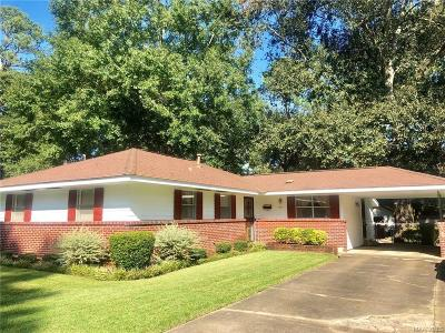Montgomery Single Family Home For Sale: 1821 Grove Hill Lane