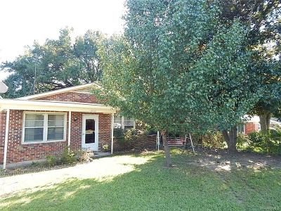 Montgomery Single Family Home For Sale: 3320 Harrison Road