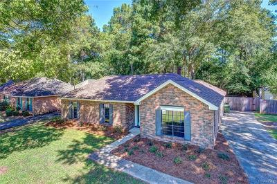 Montgomery Single Family Home For Sale: 3725 Freeman Court