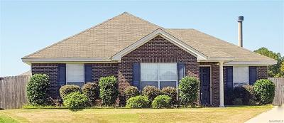 Wetumpka Single Family Home For Sale: 53 Drew Court