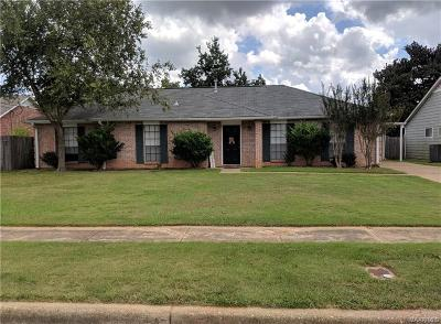 Prattville Single Family Home For Sale: 410 Sheila Boulevard