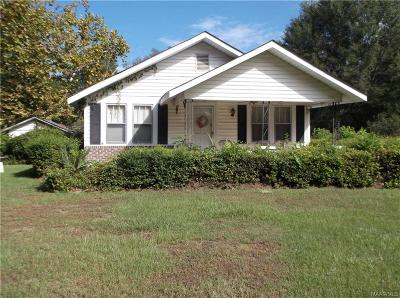 Selma Single Family Home For Sale: 1404 Old Orrville Road