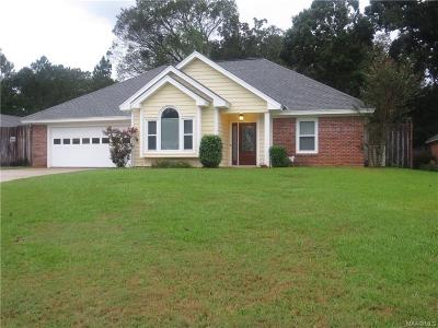 Prattville Single Family Home For Sale: 862 Running Brook Drive