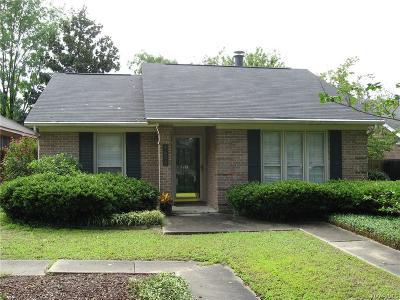 Montgomery AL Single Family Home For Sale: $106,000
