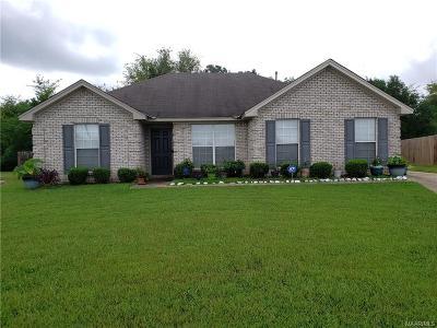 Montgomery AL Single Family Home For Sale: $156,500